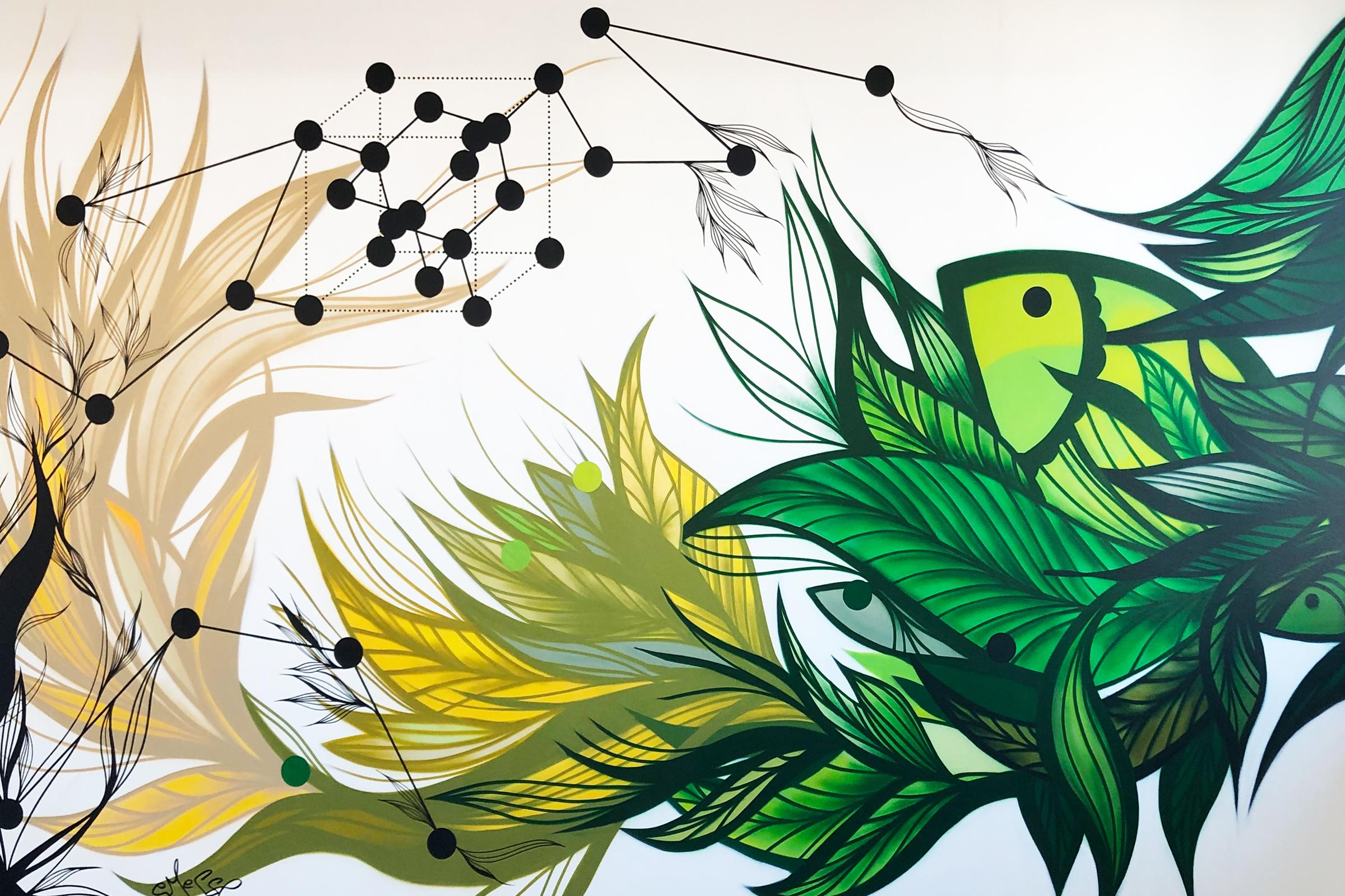 Porsche Digi Lab – Art walls I Vienna I 2020